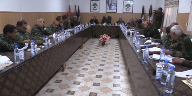 هيئة الأركان العامة لجيش التحرير الشعبي الصحراوي تشيد بمستوى الاستعداد القتالي لكافة وحدات الجيش