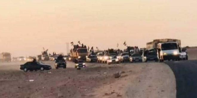 وصول المدنيين الذين كانوا معتصمين بثغرة الكركرات