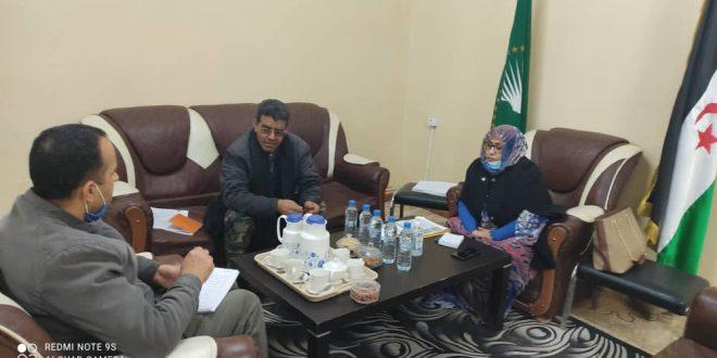 وزيرة الصحة العمومية تجري لقاءات مع بعض المنظمات الداعمة