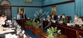 تبون يترأس اجتماعا استثنائيا للمجلس الأعلى للأمن