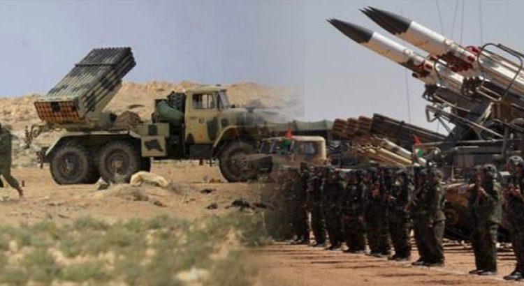 وحدات الجيش الصحراوي تشدد هجماتها على جنود الاحتلال بقطاعات المحبس ، أوسرد ، الفرسية والسمارة والبكاري