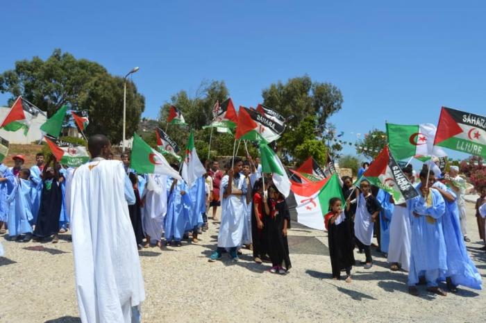سلطات ولاية عنابة الجزائرية تستقبل الأطفال الصحراويين