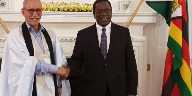 الرئيس ابراهيم غالي يتلقى رسالة شكر من نظيره الزيمبابوي