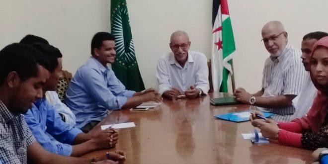 الرئيس ابراهيم غالي يدعو الطلبة الى رفع التحدي وتحمل المسؤولية الملقاة على عاتقهم