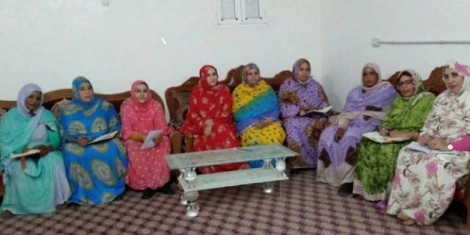 اتحاد النساء يشيد بالدور البارز للمرأة الصحراوية في البناء المؤسساتي
