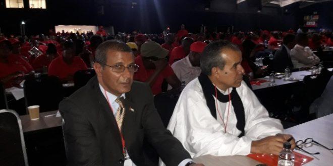 وفد من اتحاد العمال يشارك في أشغال المؤتمر الثالث عشر لمنظمة العمال بجنوب افريقيا