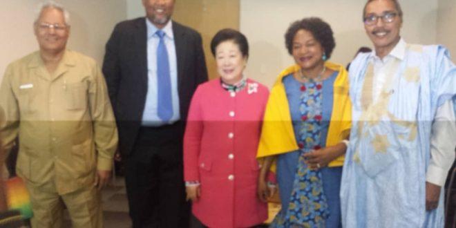 وفد صحراوي يشارك في اختتام اشغال القمة الأفريقية حول إرث نيلسون مانديلا بمدينة كيب تاون