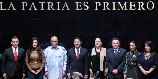 رئيس مجلس الشيوخ المكسيكي يجدد دعم بلاده للقضية الصحراوية ، ويؤكد على تعزيز علاقات البلدين