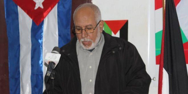 حمة سلامة يؤكد على التمسك بالوحدة الوطنية لصون مكاسب الشعب الصحراوي