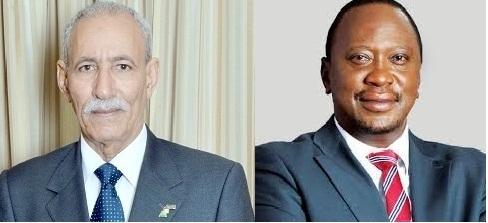 رئيس الجمهورية يهنئ نظيره الكيني بمناسبة اليوم الوطني لبلاده
