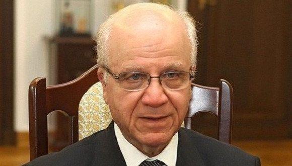 رئيس المجلس الدستوري يعزي نائب رئيس المجلس الدستوري الجزائري في وفاة مراد مدلسي