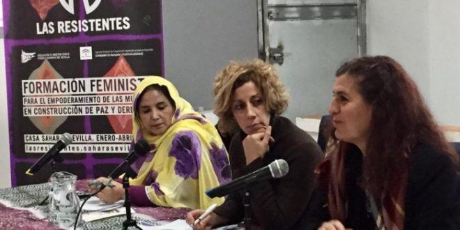 الاتحاد الوطني للمرأة الصحراوية يشارك باشبيلية في ملتقى حول مقاومة المرأة