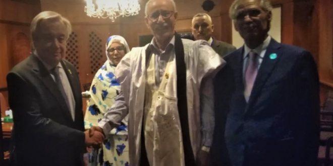 محادثات رسمية بين رئيس الجمهورية والأمين العام للأمم المتحدة بأديس أبابا