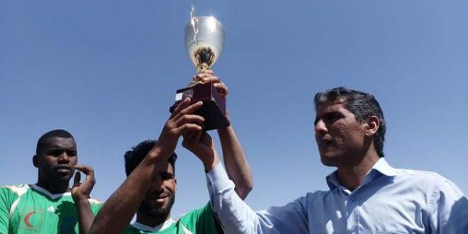 فوز فريق ولاية السمارة بنهائي كأس الجمهورية