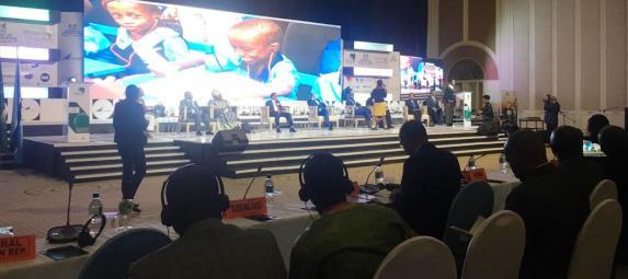 الجمهورية الصحراوية تحضر معرض 2019 للإبتكار في التعليم المنظم من قبل الاتحاد الأفريقي وحكومة بوتسوانا