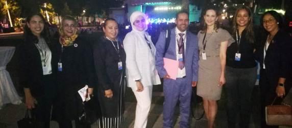 اتحاد العمال الصحراويين يشارك في مؤتمر الأمم المتحدة للمجتمع المدني بالولايات المتحدة الأمريكية