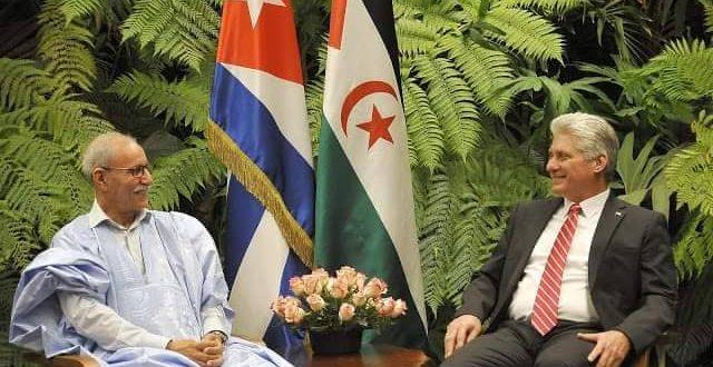 الرئيس الكوبي يجدد موقف بلاده الداعم لحق الشعب الصحراوي في الحرية والاستقلال