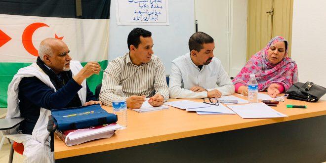 الجالية الصحراوية تواصل عقد الندوات التحضيرية للمؤتمر 15 للجبهة الشعبية لتحرير الساقية الحمراء وواد الذهب