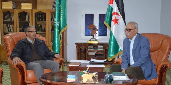 رئيس الجمهورية يستقبل الوزير الأول المنتهية مهامه