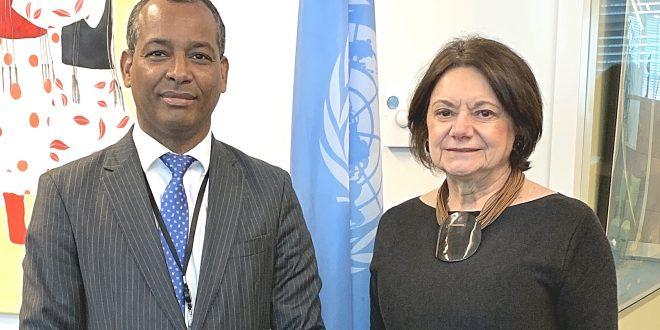 ممثل جبهة البوليساريو بالأمم المتحدة يلتقي نائبة الأمين العام للشؤون السياسية وبناء السلام