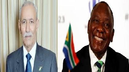 رئيس الجمهورية يهنئ نظيره الجنوب إفريقي بمناسبة اليوم الوطني للحرية