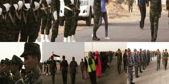 الرئيس ابراهيم غالي يتفقد ويفتش بعض الوحدات الأمنية