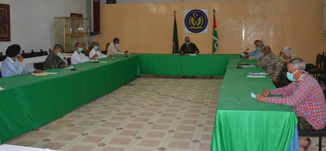 مكتب الامانة الوطنية يقف على سير البرامج في ظل الوضعية الاستثنائية