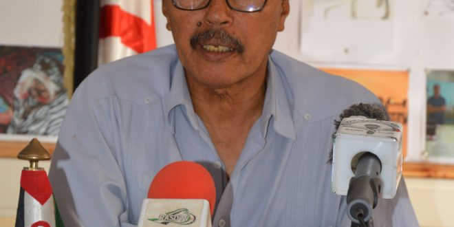 """"""" المغرب ضيع فرصا في إنهاء الصراع في الصحراء الغربية عبر احترام حق الشعب الصحراوي في تقرير المصير """" (مسؤول أمانة التنظيم السياسي)"""