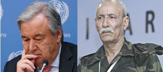 الرئيس ابراهيم غالي يؤكد للأمين العام للأمم المتحدة أن الوضع بالارض المحتلة خطير للغاية ولا يمكن السكوت عنه باي حال من الاحوال