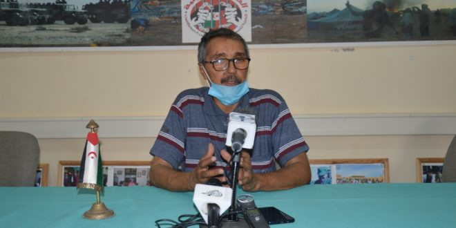 فيروس كورونا: خطري أدوه يؤكد أن الدولة الصحراوية اتخذت جملة من الإجراءات لجعل المنظومة الصحية في مستوى مواجهة فيروس كورونا