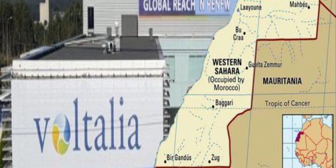 جبهة البوليساريو تحذر شركة ڤولتاليا الفرنسية من عواقب المشاركة في جريمة الاستعمار والتشجيع على الاستيطان في الأراضي الصحراوية المحتلة