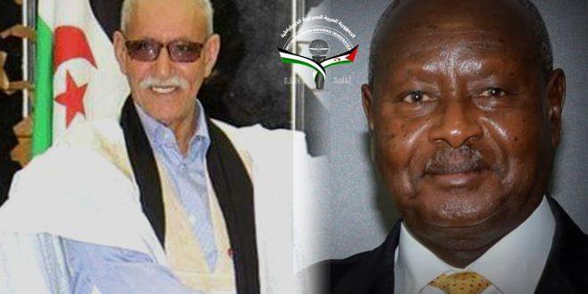 الرئيس إبراهيم غالي يهنئ نظيره الأوغندي بمناسبة استقلال بلاده