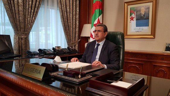 """ٍالوزير الأول الجزائري يجدد دعوة الجزائر إلى ضرورة """"إعادة بعث مسار التسوية السياسية"""" للنزاع في الصحراء الغربية"""