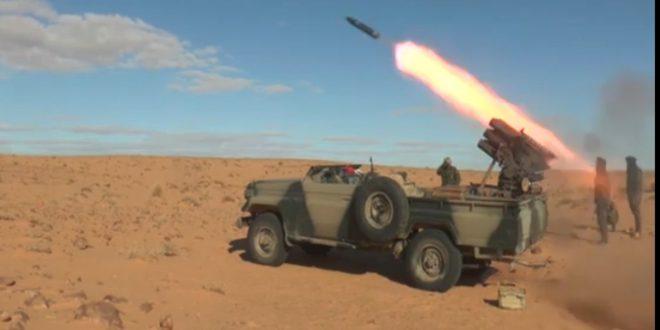 وحدات جيش التحرير الشعبي الصحراوي تنفذ هجمات مركزة استهدفت جحور وتخندقات قوات الاحتلال المغربي في نقاط متفرقة من جدار الذل والعار