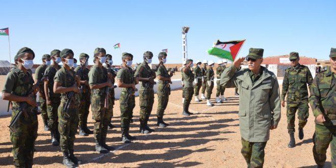مقاتلو جيش التحرير الشعبي الصحراوي، يواصلون دك معاقل و تخندقات العدو المغربي على طول جدار العار.