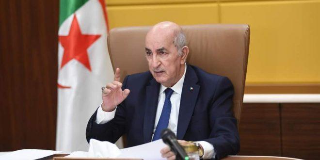 الرئيس الجزائري يدعو الى تنسيق الجهود لايجاد حل دائم للنزاع في الصحراء الغربية