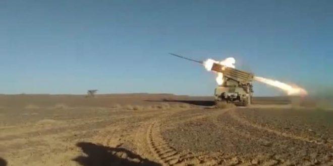 مقاتلو جيش التحرير الشعبي الصحراوي ينفذون سبعة هجومات جديدة ضد تخندقات جنود الاحتلال المغربي