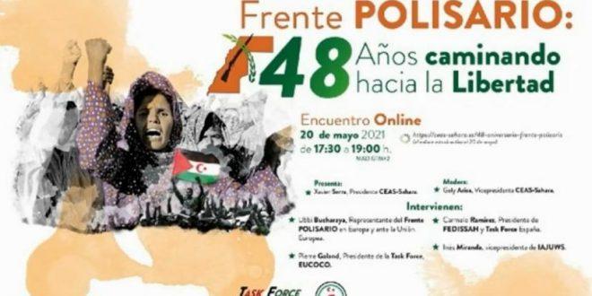 """مدريد : """"جبهة البوليساريو 48 عاما على طريق الحرية"""" محور ندوة رقمية بمناسبة ذكرى إعلان الكفاح المسلح"""