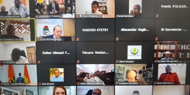 وفد عن جبهة البوليساريو يشارك في إجتماع الأممية الإشتراكية -لجنة إفريقيا-