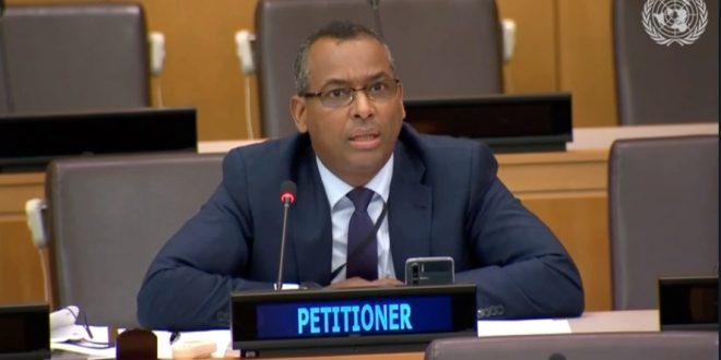 جبهة البوليساريو تدعو لجنة تصفية الاستعمار لتطبيق القرار 1514 وتذكر أن السيادة في الصحراء الغربية حق خالص للشعب الصحراوي