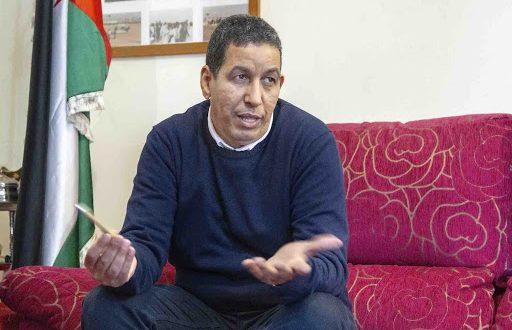 عبد الله العرابي يلفت إنتباه المدير العام لقسم المغرب العربي وافريقيا والشرق الأوسط الإسباني الى موجات القمع الوحشي بالمناطق المحتلة
