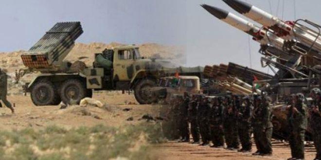 مقاتلو جيش التحرير الشعبي الصحراوي يستهدفون عدة مواقع تابعة للعدو المغربي بأقصاف مركزة على طول جدار العار